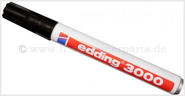 Edding Filzmarker # 3000 schwarz