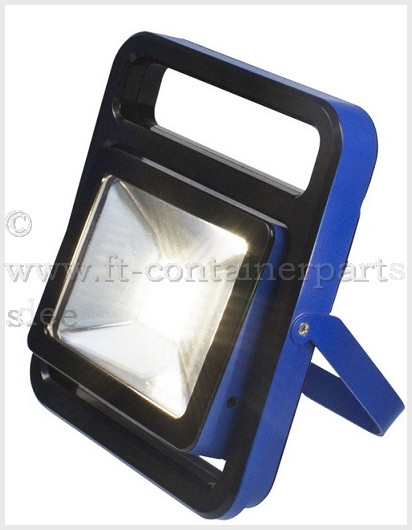 LED Akku Chip Strahler 20 Watt - Samsung-Led-Chip