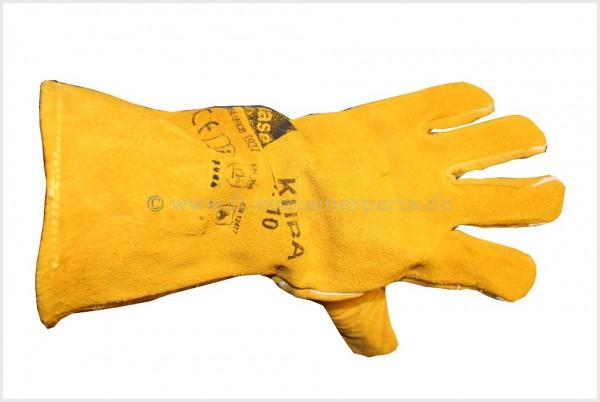 Handschuh -Schweißer Kuba I gelb
