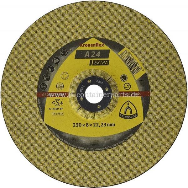 Grinding disc 230x8x22,2 mm