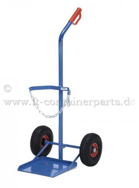 Steel cylinder trolley / 1 x 33 kg