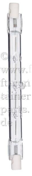 Halogenstab 230 V Sockel R7s 100 Watt