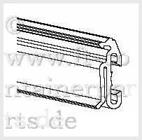 Door frame profile, L= 2540, 06-012-2
