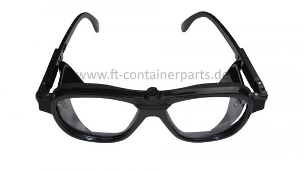 Schutzbrille farblos (Schleifbrille)