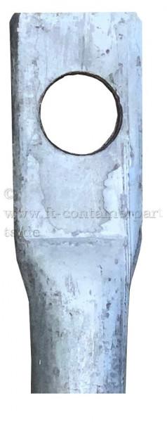 Hardtop Dachspriegel verstellbar mit Loch 30 mm