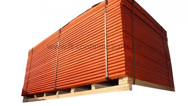 Container Floor Board, both sides chamferred