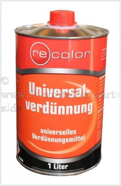 Universal - Verdünnung á 1 ltr Blech