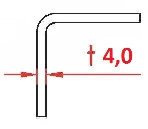 Winkel - Kantprofil