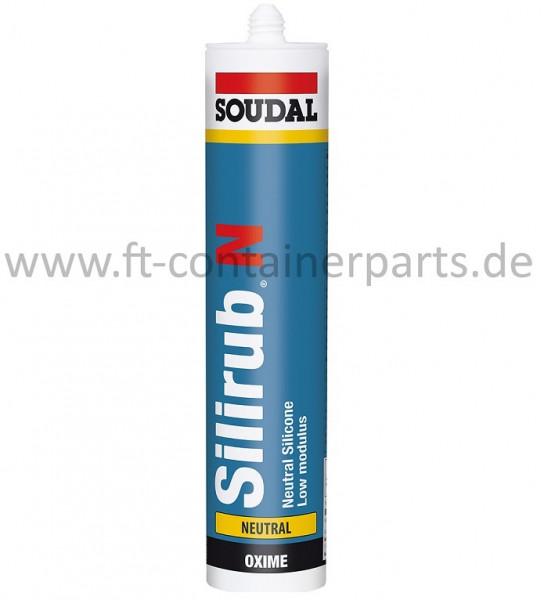 Silicon Silirub N, neutral á 310 ml, schwarz