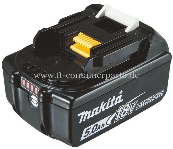 Makita-Ersatzakku - BL1850 18,0V 5,0 Ah