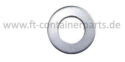 Washer DIN 125, galvanized