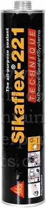 Sikaflex® Dichtstoff, grau á 300 ml