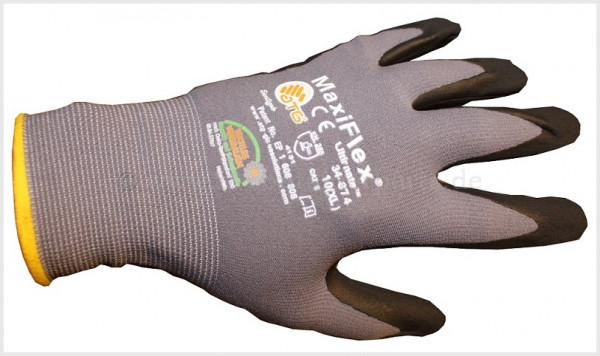 Nitril gloves size 10