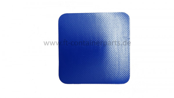 Tarpaulin patches 100 x 100 mm, blue self-adhesive