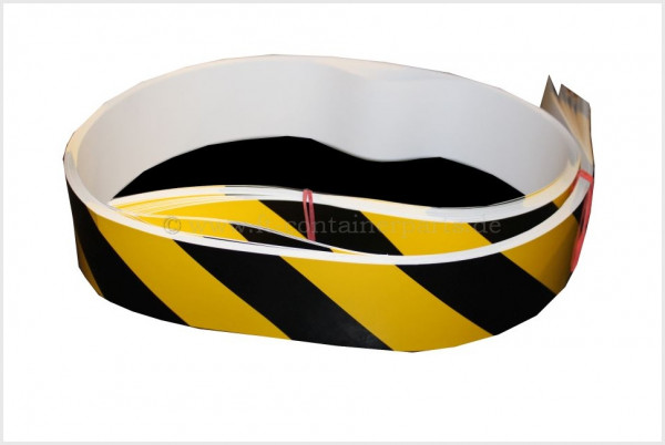 Warning Stripes HC, yellow/black, 1 m