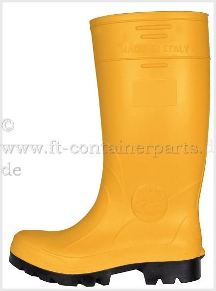 Schuhe -Gummistiefel S5 Gr. 42 gelb