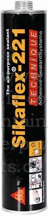 Sikaflex® Dichtstoff, schwarz á 300 ml