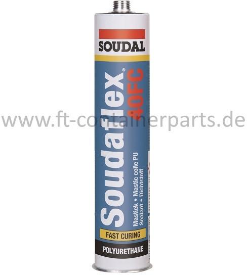Soudaflex 40FC PU-Kleb & Dichtstoff, schwarz