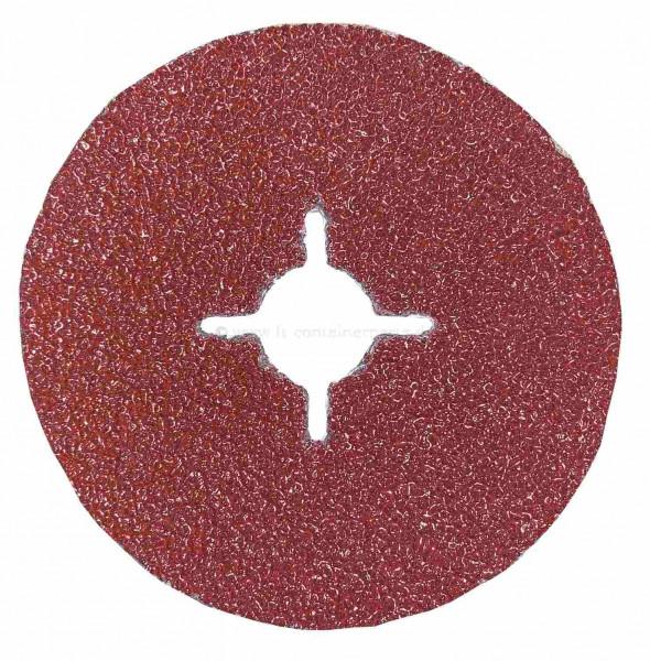 Fiberscheibe 115 mm Korn 36