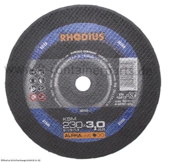 Cutting disc A24