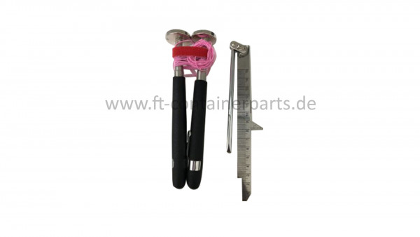 Container Damage Tool IICL Roof Measuring Tool Kit